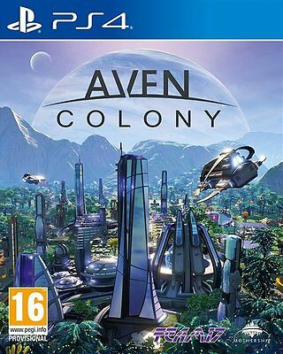 Playstation 4  (Ps4)  - Aven  Colony    (New Game Sealed)