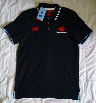 WARATAHS Supporters Polo Shirt (Adult Small) - BNWT