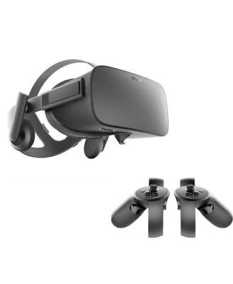 New Oculus Rift CV1 VR Headset and Touch Controllers BNIB 2 Year Warranty