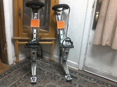 ADULT JUMPING STILTS by AIR TREKKERS BW EXTREME 1 Pair of Spring Loaded JUMP STI