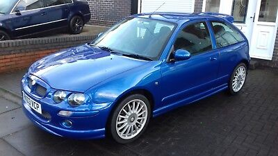 2003 Mg Zr 160 1.8 Vvc Trophy Blue - Not Rover Track Project Engine Conversion