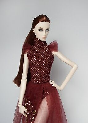 Dark Romance Special Occasion Fashion Set Style 03 for FR Agnes Nu Face Dolls