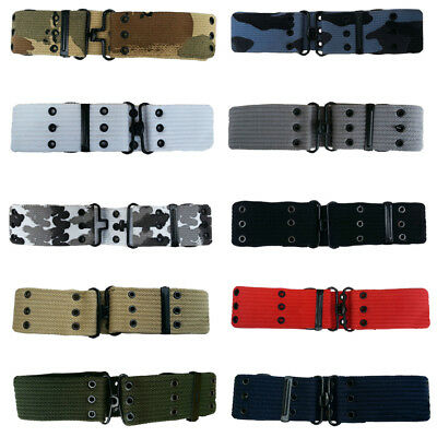 Us Army Style  Pistol Belt Webbing Military For Pouches Holsters