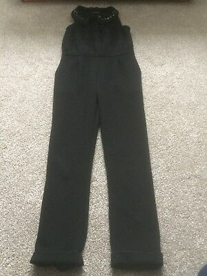 Girl Party Black Jumpsuit From Next Age 7 Years