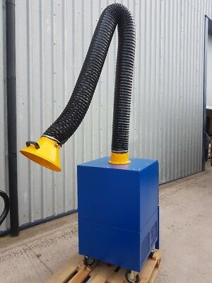 Fume & Dust Extraction Unit, Single Arm for Industrial Use, AdmereWest,