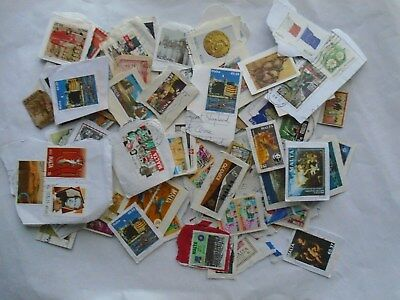 Malta - 150 Postage Stamps as shown in picture (A)