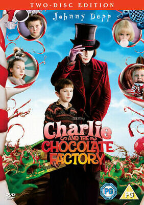 Charlie And The Chocolate Factory - 2 Disc - Johnny Depp - New / Sealed Dvd