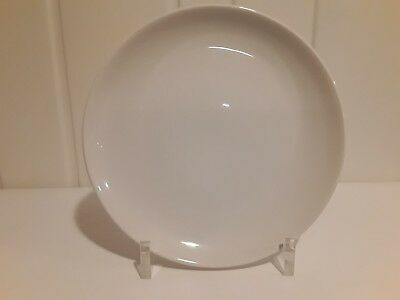 Vintage Mid Century Russel Wright Iroquois Casual White Dinner Plate Free Ship!