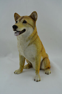 SANDICAST  Shiba Inu  Fawn Color  OS16302   Larger Size   New