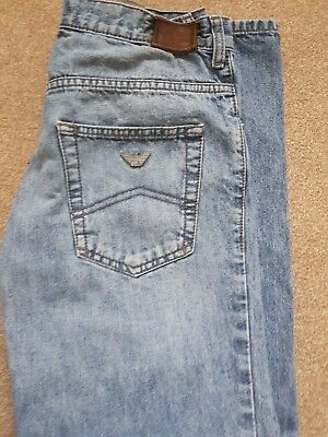 boys designer armani junior jeans age 13a denim aj