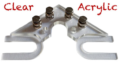 The String Butler V3 - Guitar Tuning Improvement Device - (Clear Acrylic)