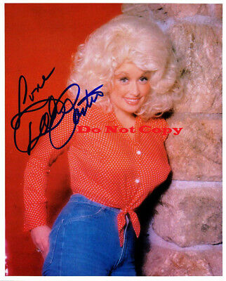Dolly Parton 8x10 photo Autographed Signed reprint