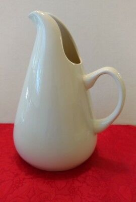 Russel Wright American Modern White/Cream Color  Pitcher