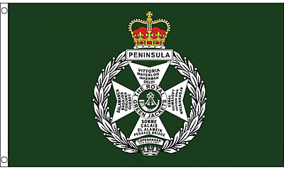Royal Green Jackets 5'x3' Flag