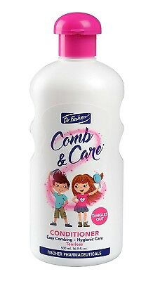 Dr. Fischer Comb & Care Children's Conditioner Tangles Out Easy Combing 500ml