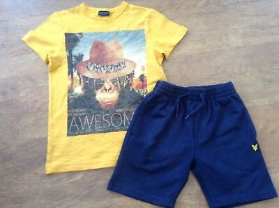 Lyle And Scott Next Boys Small Bundle Outfit 6-7Yrs