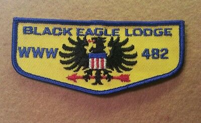 Black Eagle Lodge 482 (Germany) Transatlantic Council Pocket Flap - A00656