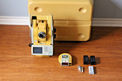 "Topcon GTS-903A 3"" Robotic Survey Total Station w/ RC-3R, Calibrated"