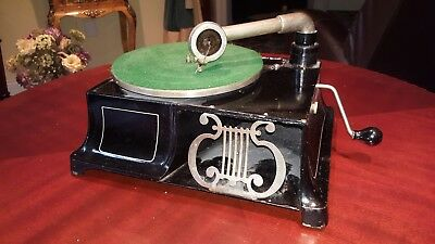 Rare Antique Phonograph By Universal Phonograph Company W/ Vanophone Reproducer