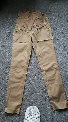 h&m maternity chinos size 10