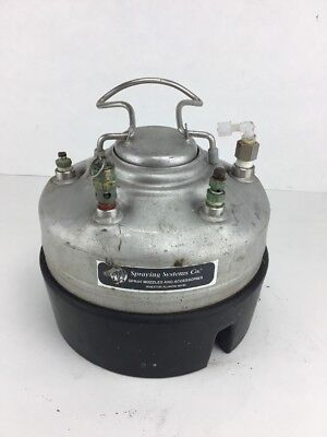 Spraying Systems Co.  1 Gal SS AIr Pressure Tank