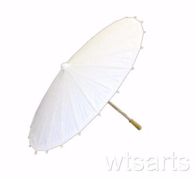 White Paper Parasol, Wedding Umbrella.