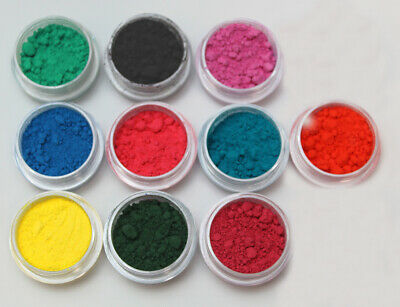 Thermochromic Color Changing Sampler 11 colors pigment Nail ART SLIME GOO