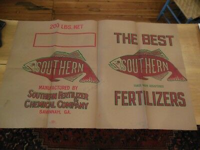 Printer's proof, Vintage 1959 SOUTHERN FERTILIZERS  /  30 1/2 X 52 inches