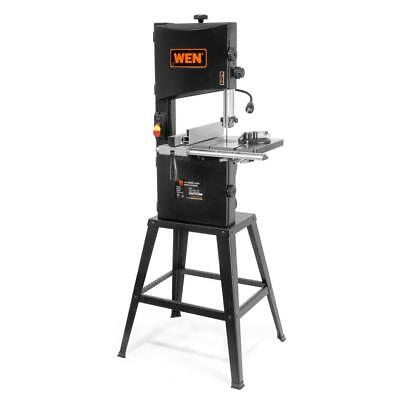 WEN [3962] 3.5 Amp 10 in. 2-Speed Band Saw with Stand and Worklight