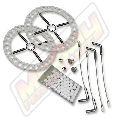 Alignment Rack Turn Plate Table Repair Kit with Stainless Steel Hardware & Pins