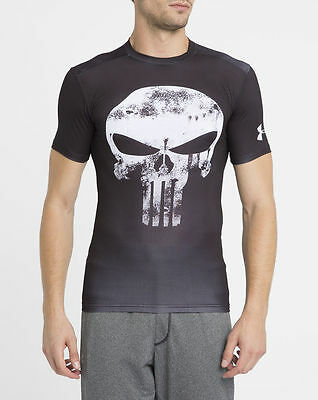 Under Armour Men's Compression Alter Ego Punisher Shirt New FREE POSTAGE