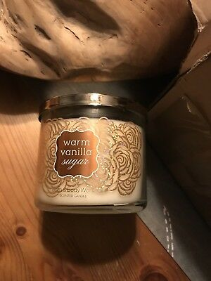 Bath And Body Works Kerze Warm Vanilla Sugar Neu