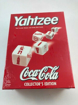 Yahtzee Coca-Cola Collector's Edition NEW in BOX