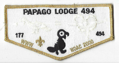OA Papago Lodge 494 S24 Flap Catalina Council