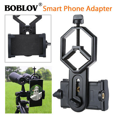 Binocular Monocular Spotting Scope Mobile Phone Mount Holder Compact For iPhone