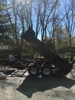 """Brand New 2018 83""""x12' Dump Trailer 12,000# Gvwr Loaded Hurricane Special Price$"""