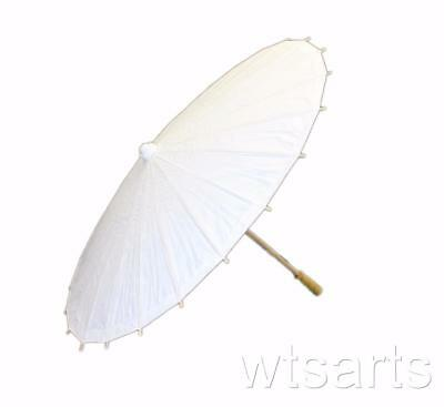 White Paper Parasol, Wedding Umbrella