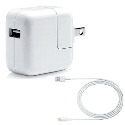 OEM 12W USB Power Adapter Wall Charger for Apple iPad 2 3 4 Air & 3.3' USB Cable
