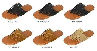 Wholesale Lot New 36 Prs Ladies Fringe Thong Sandal