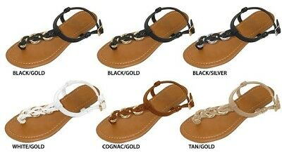 Wholesale Lot New 36 Prs Women's Sandals with Metal Hardware