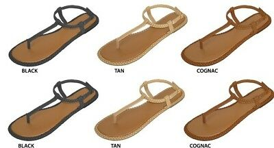 Wholesale Lot New 36 Prs Ladies PU Thong Sandals with Woven Welt