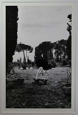 """Helmut Newton """"In a garden near Rome"""" original Photo Litho - Special Collection"""
