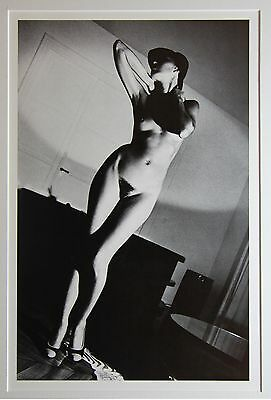 """Helmut Newton - """"In my apartement"""" - original Photo Litho - Special Collection"""