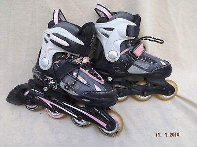 Bronx Flextech Childs Inline Skates,size Adj J13 To 3 Uk,padded Liners,clean Con