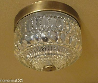 Vintage Lighting 1970s petite Hollywood Regency foyer by Thomas