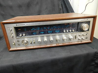 Kenwood - Eleven Iii - Vintage 120Wpc Stereo Receiver Am/fm/aux/phono Dolby