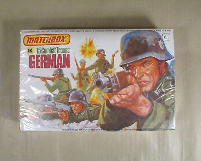 matchbox P-6001 COMBAT TROOPS GERMAN 1:32  NEW - IN SEALED IN PLASTIC WRAPED BOX