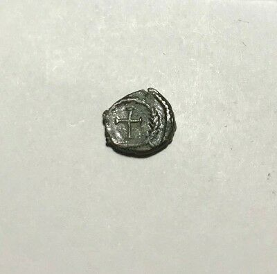 Ancient Roman, 1st - 3rd c. AD. Bronze coin, Cross