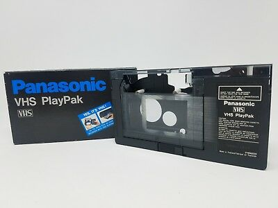 Panasonic VHS PlayPak C Tape Motorized Adapter Japan Metal Chassis