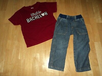 Gymboree 2T Boys Jeans and Top Valentines Boys 2T Gymboree Jeans & Top Toddler